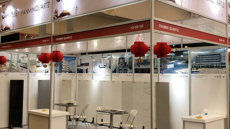 Indobuildtech Expo booth